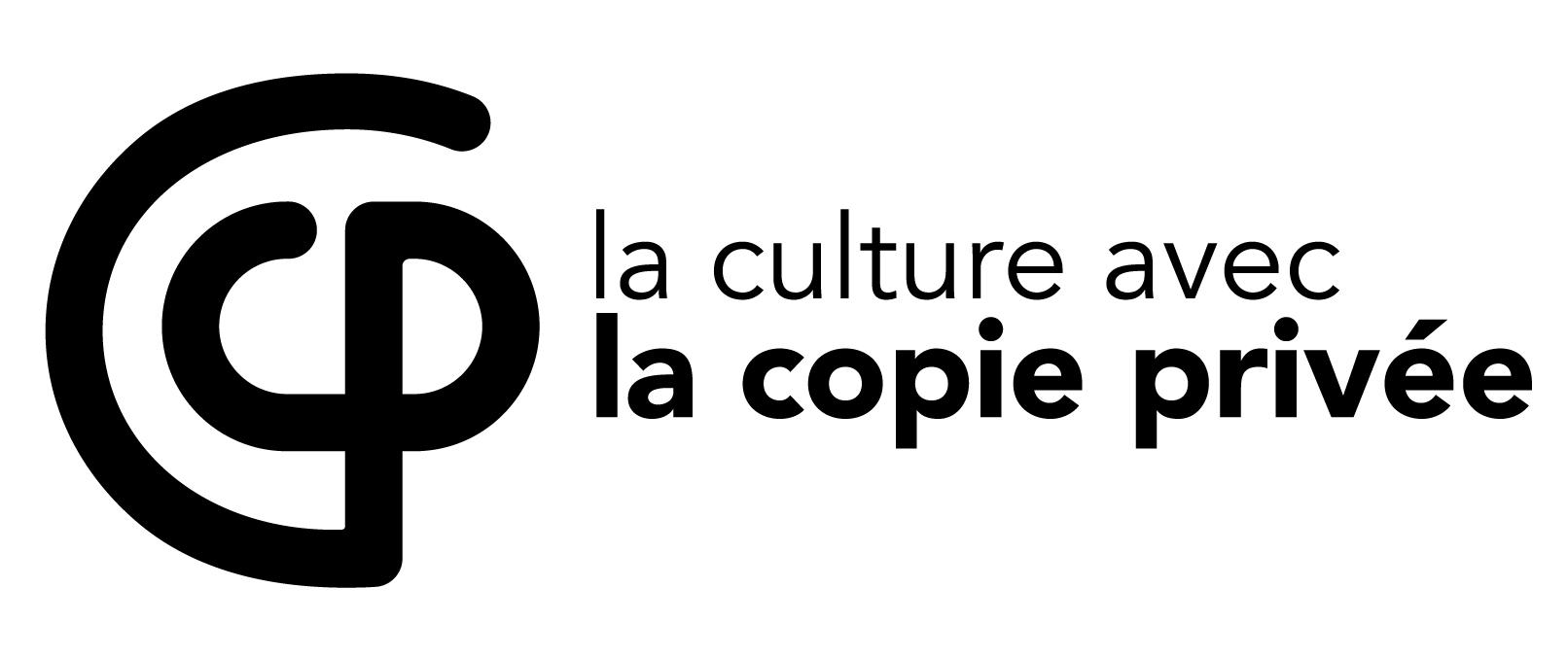 Logo noir - La copie privée