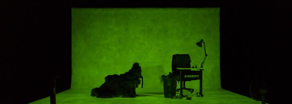 Création Moi les mammouths- Ateliers TNG Lyon Photographie Scénographie et création Lumière : Nicolas Boudier Mise en Scène : Joris Mathieu Texte : Manuela Draeger
